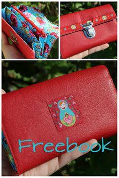 Purse. Free sewing pattern. http://lalawear.blogspot.de/p/tutorials.html
