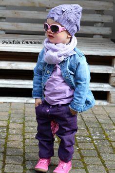 Meine Sverre Kids - Teil 2. Heute in der Lila Variante mit supercoolen Sonnenbrille und Tasche. Warum sie es braucht? Lest selbst.....