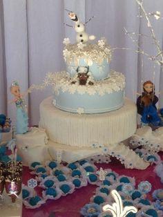 Frozen bolo maravilhoso!!!