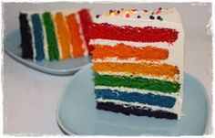 Mine gleder: Rainbow Cake