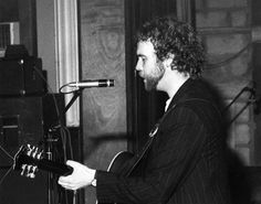 An poster sized print, approx (other products available) - John Martyn singer, songwriter and guitarist, in concert at the St Ives September Festival, Cornwall. Date: 1980 - Image supplied by Mary Evans Prints Online - Poster printed in the USA September Festivals, John Martyn, St Ives Cornwall, The St, Online Images, Art Music, 500 Piece Puzzles, Photographic Prints, Picture Photo