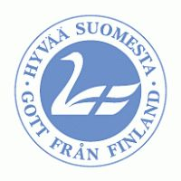 This symbol on food products mean they are good (hyvaa) and made in Finland.