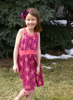 Tea Children's Clothing – Dresses - Love this new knit halter dress