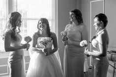 Washington DC, Northern Virginia and Maryland wedding photographer / Lola Snaps Photography / The Grand Atrium in Vienna, Virginia #repin #bridesmaids