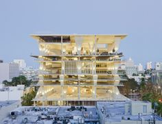 1111 Lincoln Road Parking Garage by Herzog and de Meuron