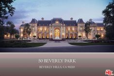 Beverly Hills Mega Mansion Design Proposal in Beverly Park on a $32 Million Lot! | Floor Plans 50 Beverly Park Way, Beverly Hills, California Listed for: $