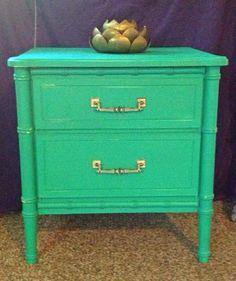 Boho Chic Nightstand Shabby Chic Furniture by IslandLifeNow, $200.00