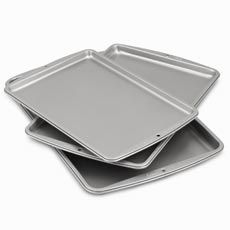 Wilton Cookie Sheets (Set of 3) - Bed Bath & Beyond; Good option for just cookie sheets!