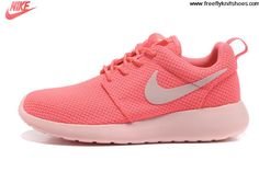 Wholesale Discount Womens Nike Roshe Run Hot Punch Storm Pink Shoes The Most Flexible Running Shoes
