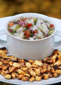 Ceviche de pescado de Mafi en Ecuador... http://1502983.talkfusion.com/product/