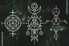 Tattoo Geometric Design Sacred Geometry Fractals 23 New Ideas Dishonored Symbol, Editing Symbols, Tatoo Symbol, Tattoos Motive, Tattoo Henna, Moth Tattoo, Sacred Geometry Symbols, Geometry Tattoo, Unalome