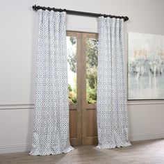 Natural,White,96 Inches,Lined Curtains: Accentuate the rooms in your home with curtains, which come in a variety of colors, styles, and lengths. Free Shipping on orders over $45!