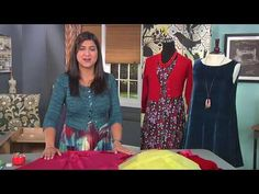 Sewing with Silk Velvet - YouTube
