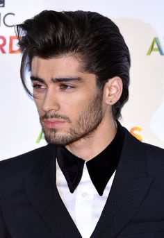 zayn's hair is a gift from the gods
