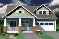 This craftsman design floor plan is 2310 sq ft and has 3 bedrooms and has 2.50 bathrooms.