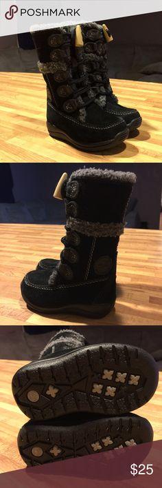 Selling this Timberland toddler boots NWOT on Poshmark! My username is: jessicakpck. #shopmycloset #poshmark #fashion #shopping #style #forsale #Timberland #Other