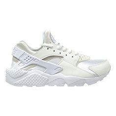 brand new dbf70 85c5e Nike Air Huarache Run Womens Shoes WhiteWhite 634835108 11 BM US -- Find out  more