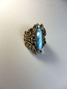 Wire Jewelry, Boho Jewelry, Jewelry Rings, Unique Jewelry, Jewellery, Handmade Copper, Handmade Jewelry, Etsy Handmade, Labradorite Ring