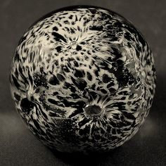 Interesting Black and White Paperweight