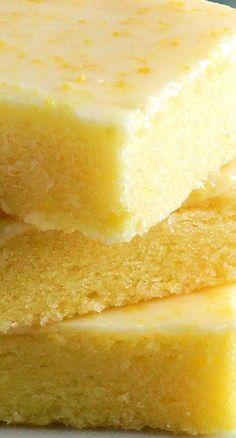 Best Ever Lemon Brownie Bars