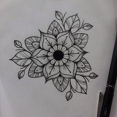 "73 Me gusta, 2 comentarios - 𝔗 𝔞 𝔱 𝔱 𝔬 𝔬 𝔄 𝔯 𝔱 𝔦 𝔰 𝔱 (@hanmaude) en Instagram: ""🌸🌿 #tattooapprentice #dotwork #stipple #mandala #flower #apprentice #stippling #drawing"""