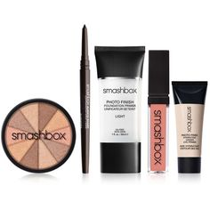 Smashbox Summer Essentials Set ❤ liked on Polyvore featuring beauty products, gift sets & kits and smashbox