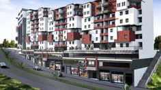 make a 3D architectural rendering by usnass