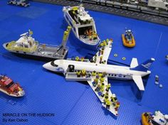 Lego crash rescue