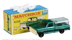 Matchbox Regular Wheels No.50c Ford Kennel Truck.