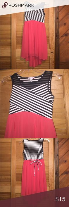 Kids high-low dress Worn twice and in good condition. Speechless Dresses