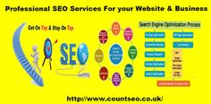 Professional SEO Services London - Count SEO UK offer professional SEO services that help websites increase their organic search score drastically in order to compete for the highest rankings.