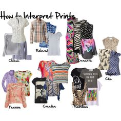 How to interpret prints and patterns, Imogen Lamport, Inside out Style, Bespoke Image, Wardrobe Therapy