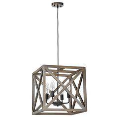 Ren-Wil Crate Collection Ceiling Fixture with 4 Bulbs, Wood and Metal Base and Natural Wood Wood Shade Pendant Light Fixtures, Ceiling Light Fixtures, Ceiling Pendant, Pendant Lighting, Ceiling Lights, Light Pendant, Unique Lighting, Light Decorations, Wood And Metal