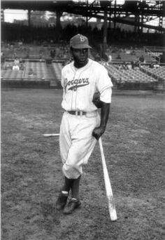 Jackie Robinson - the first African-American to play in the major leagues, in 1947. He endured physical and verbal abuse on and off the field, showing remarkable courage, while helping pave the way for the civil rights movement.  During and after his playing days, he joined picket lines and marches, wrote a newspaper column that attacked racism, and raised funds for the NAACP