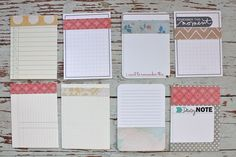 Altered Project Life journaling cards