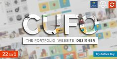 Cufo - Responsive Wordpress Portfolio Theme by Royal-Flush Update: Cufo v1.3.6 ¨C Google maps API key integration for contact form, read more in documentation. CHECKOUT SHORT INTRO CUSTOMI