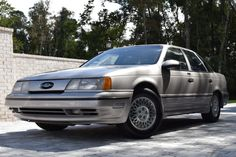 """For Sale: 1989 Ford Taurus SHO (Light Titanium, 3.0L """"Yamaha"""" V6, 5-speed) Ford Taurus Sho, Electric Mirror, Engine Start, Keyless Entry, Oil Change, Cruise Control, Classic Cars Online, Cladding, West Virginia"""