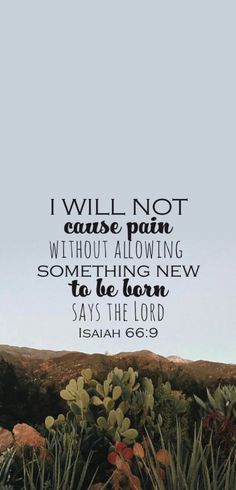 Bible verse phone screen background #isaiah66:9 #wallpaper