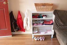 Montessori On the Double - Practical Life Care of Self Putting Away Jacket | Montessori On The Double