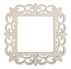 4x4 Laser Cut Wood Frame - Fleur-de-lis - Google Search