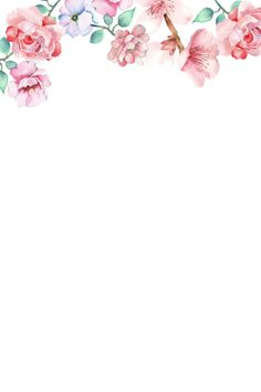 Notebook Paper Printable, Printable Paper, Brush Pen Calligraphy, Flower Frame, Design Elements, Fantasy Art, Diy And Crafts, Scrapbook, Invitations