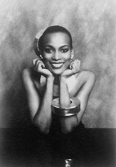 Naomi Sims, the first African American supermodel