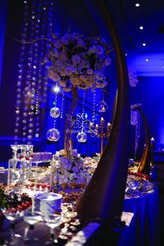 sapphire and gold wedding theme - Google Search