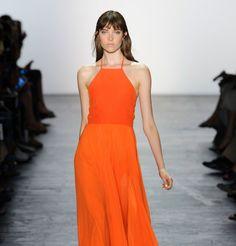 L'orange, couleur tendance printemps-été 2016.