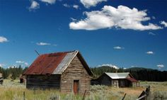 There are 13 documented ghost towns in Eastern Oregon, where deserted saloons and bordered buildings are all that's left of retired gold mining settlements.  See Travel Oregon for more info.