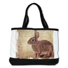 Florida Cottontail Bunny Tote Bag