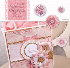 Beautiful Papermania's Capsule Wild Rose Collection | docrafts.com