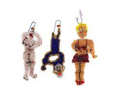 Joyce J. Scott : peyote-stitched glass beads