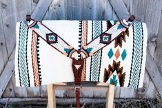 Could do without the breast collar - but I love the saddle blanket. Western Pleasure Horses, Western Horse Tack, Western Saddle Pads, Barrel Racing Saddles, Barrel Racing Horses, Horse Halters, Horse Saddles, Horse Show Clothes, Tack Sets