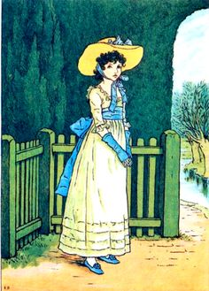 Kate Greenaway from Marigold Garden    More from BrocanteHome